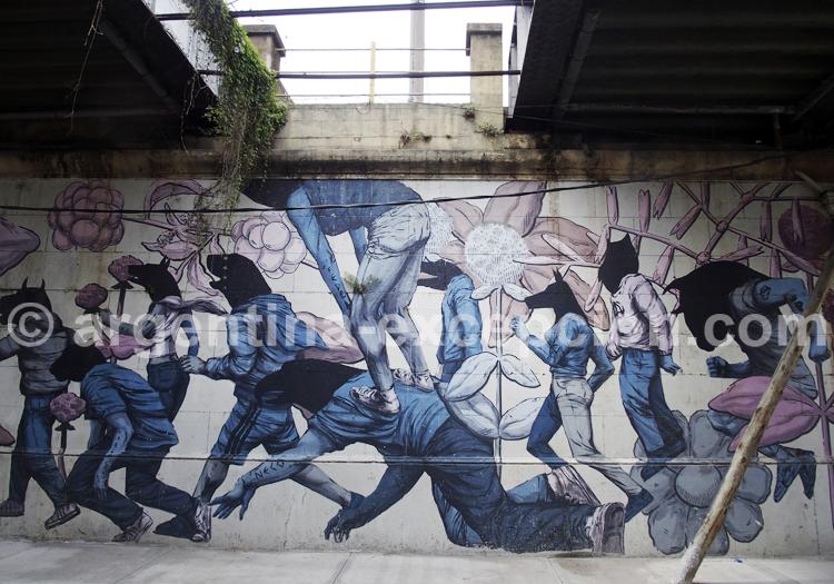 Fresque, Barracas