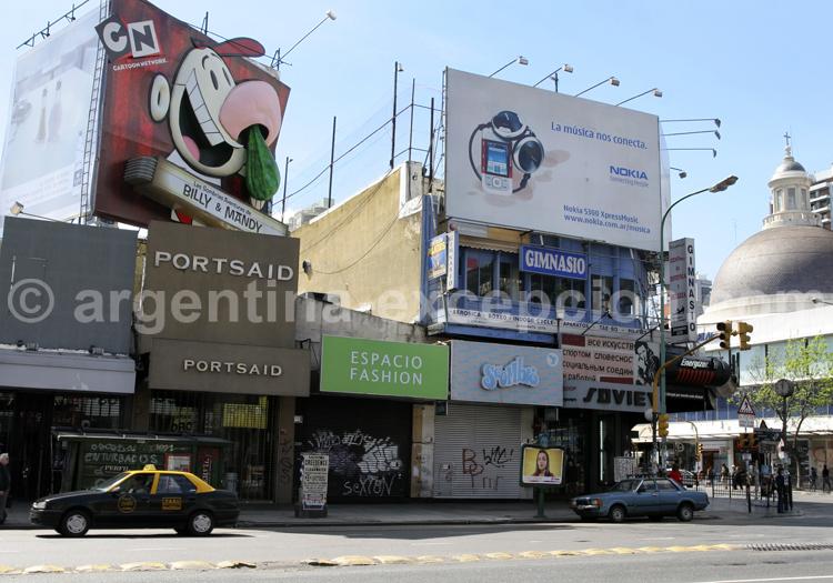 Av Santa Fe, Belgrano