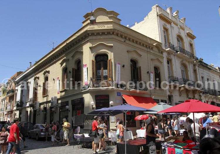 City tour, San Telmo