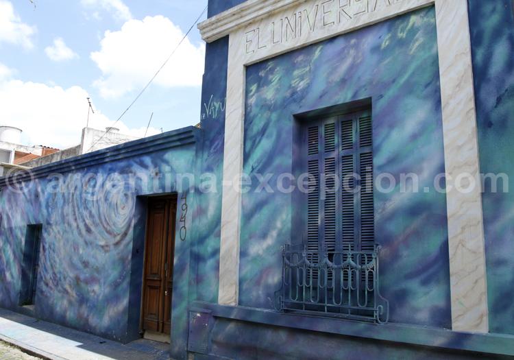 Façade colorée, Palermo