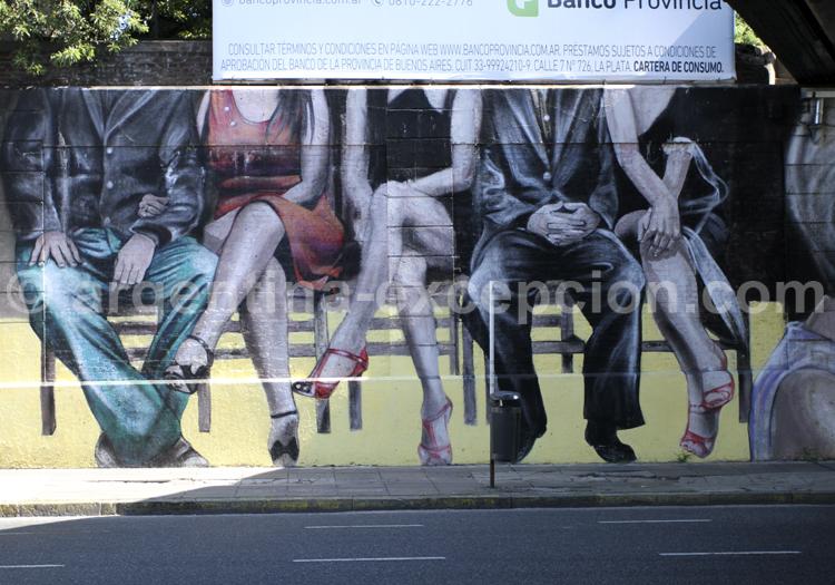 Tango, Street art, Palermo