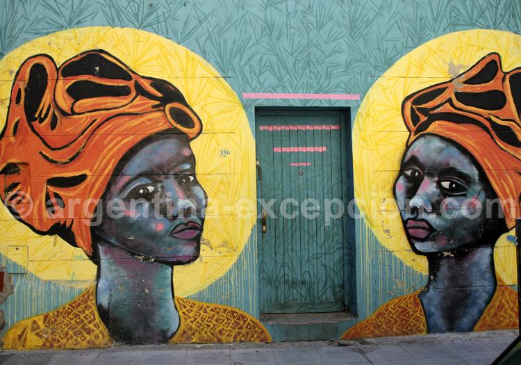 Fresque murale, Boedo
