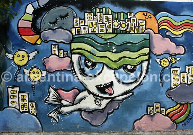 Fresque mural, Caballito