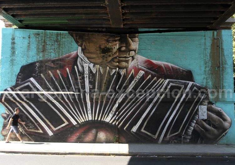 Bandoneón, Street Art Palermo