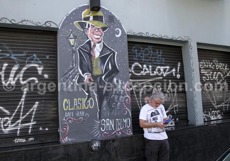 Carlos Gardel, San Telmo