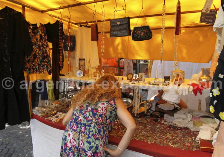 Accessoires féminins, San Telmo