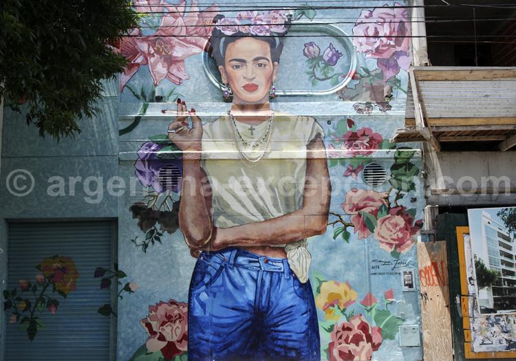 Frida Kahlo, Street Art