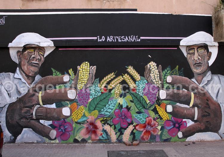 Fresque murale, San Telmo