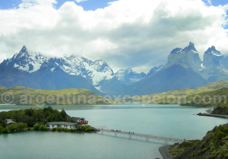 Lac Pehoe à Torres de Paine