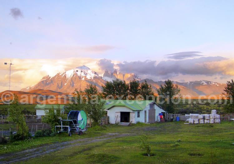 Torres del Paine depuis estancia Tercera Barranca