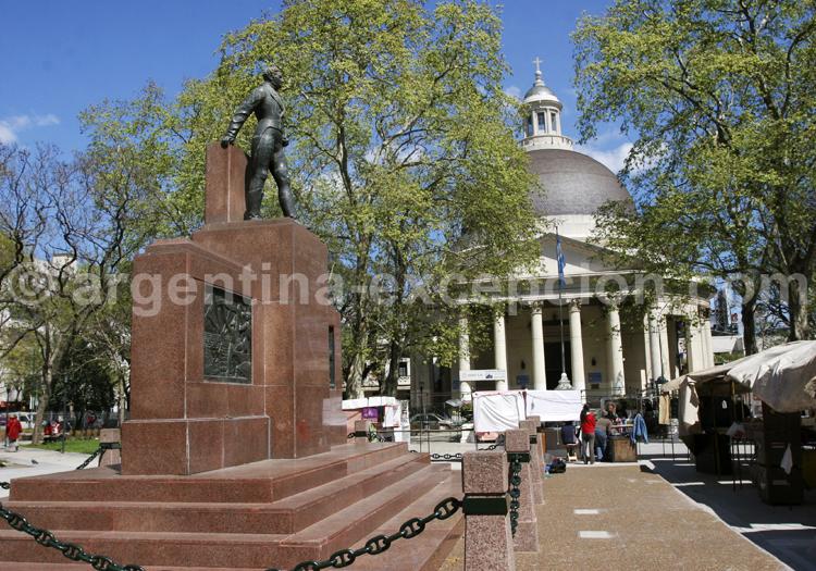 Statue Gal Manuel Belgrano, quartier de Belgrano