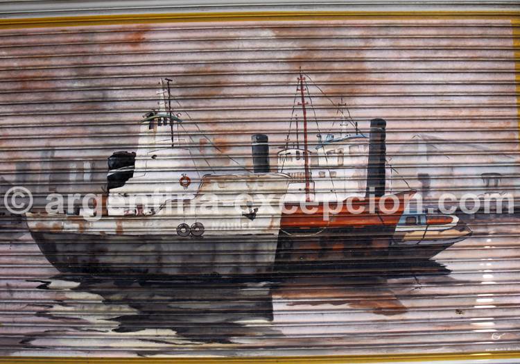Fresque murale, La Boca