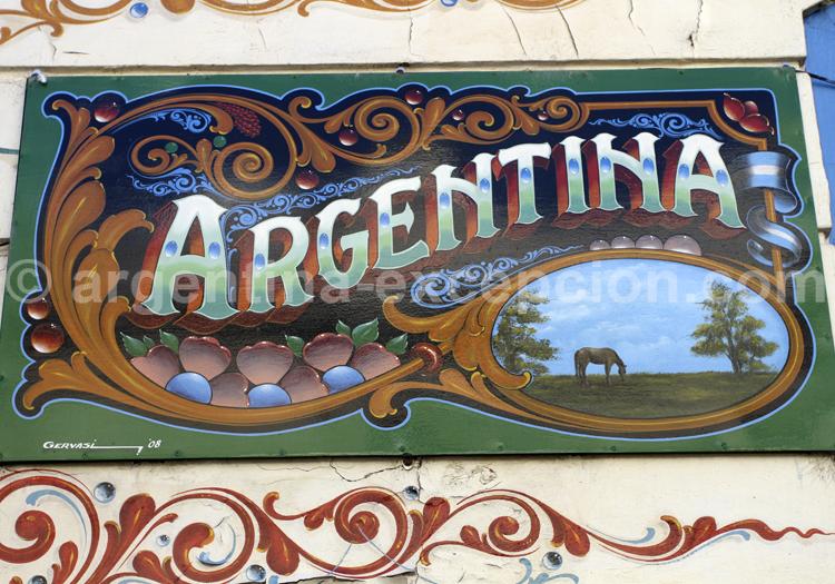 Fileteado, Buenos Aires