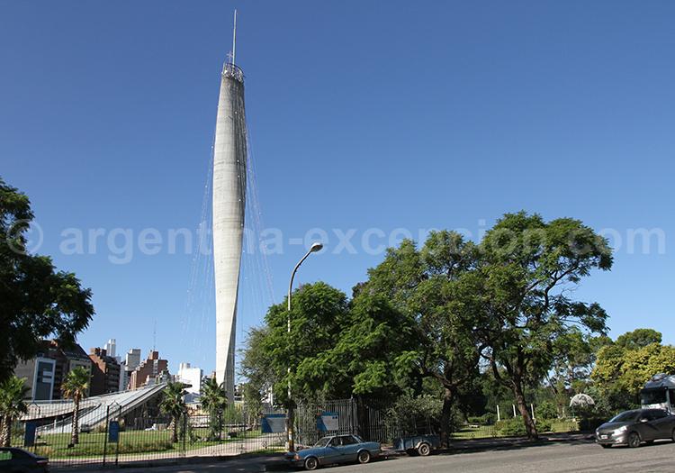 Phare du Bicentenaire, parc Sarmiento
