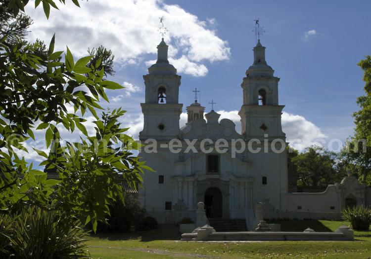 Eglise baroque, Santa Catalina