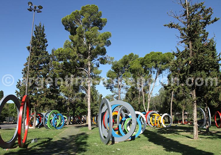Place du Centenaire, parc Sarmiento