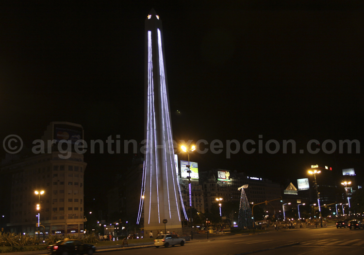 Obelisco, Avenida 9 de Julio