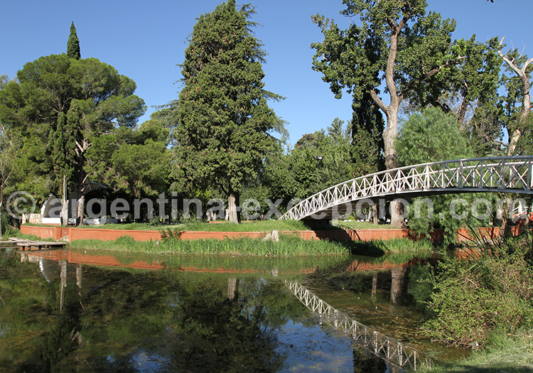 Île enchantée, parc Sarmiento, Cordoba