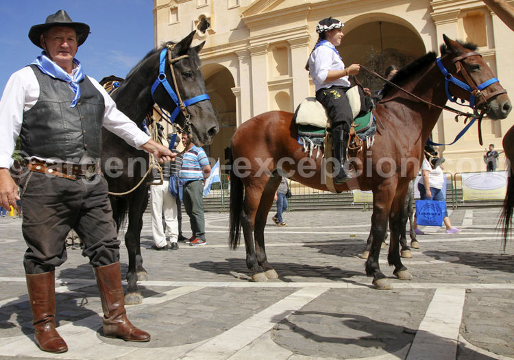 Rassemblement gaucho, Argentine
