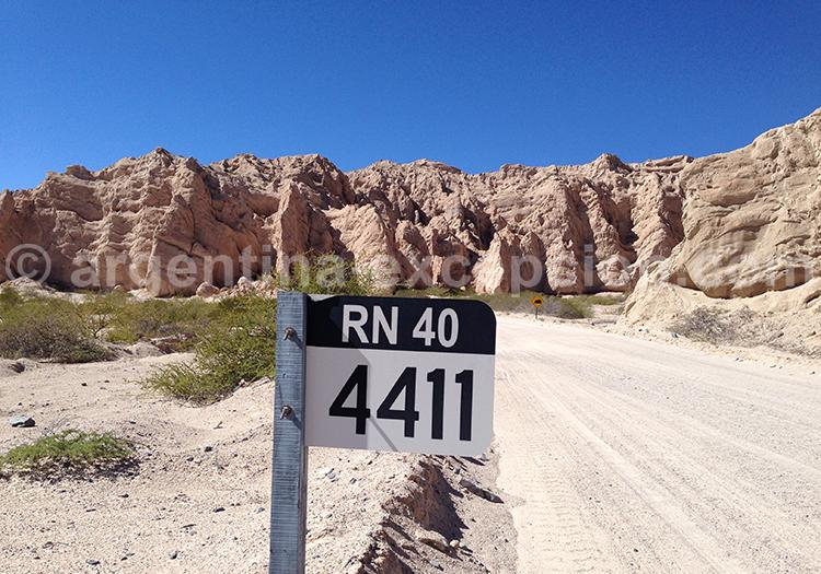 Sur la route 40