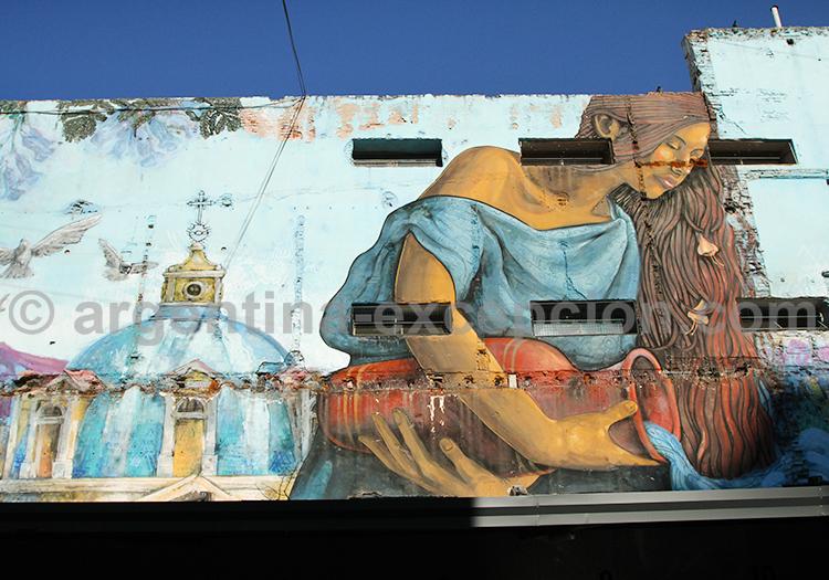 Fresque murale, Cordoba
