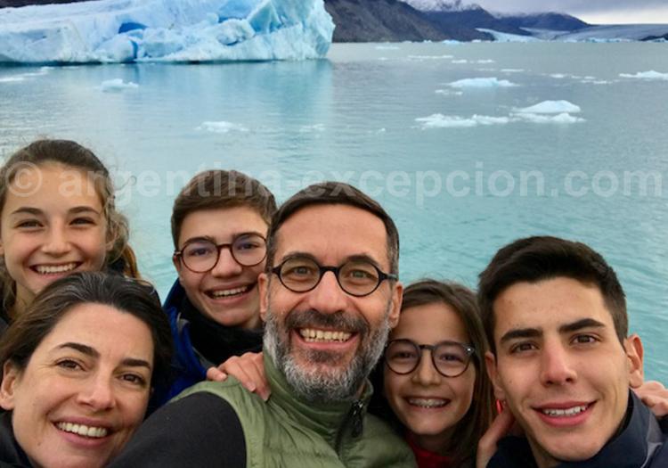 Navigation sur le lago Argentino