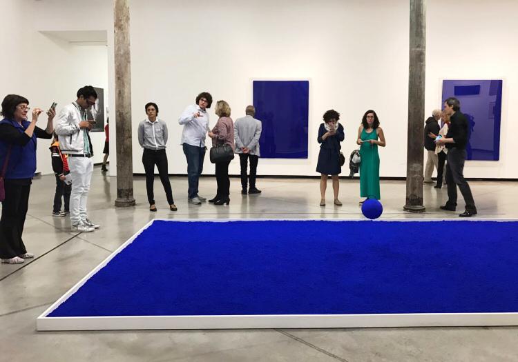 Expo Yves Klein - Fondation PROA