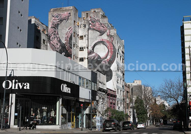 Graffiti, Villa Crespo