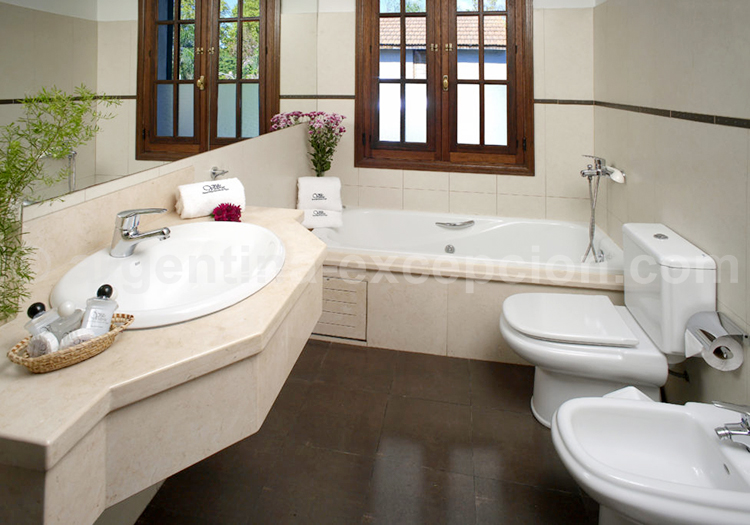 Villa Victoria, Salle de bain