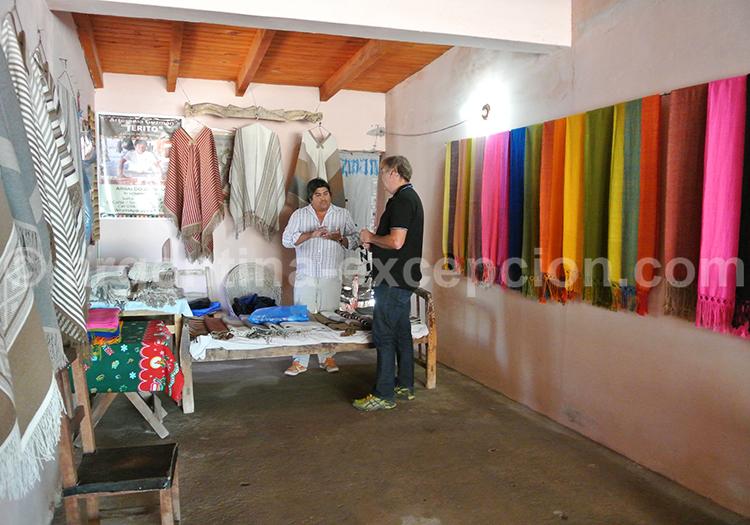 Atelier de tissage dans le NOA