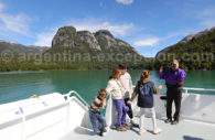 En famille sur le lac Nahuel Hapi