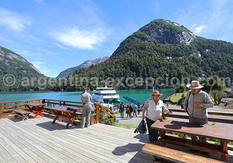 Traversée des Lacs, Bariloche Petrohué