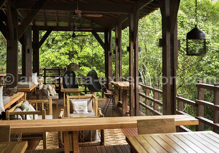 Awasi Iguazú, Pavillon principal