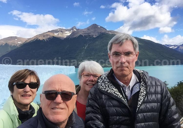 Perito Moreno, Voyage Argentine