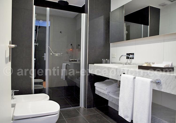 Hôtel Fierro, Salle de bain