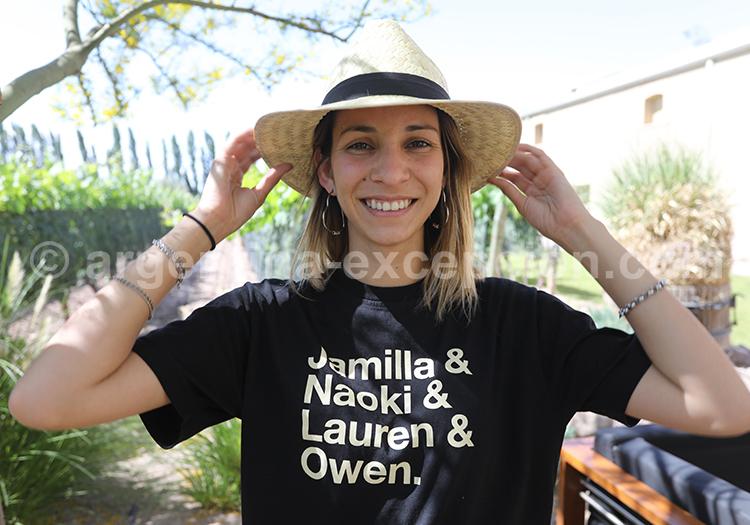 Portrait d'une argentine, Argentine avec l'agence de voyage Argentina Excepción
