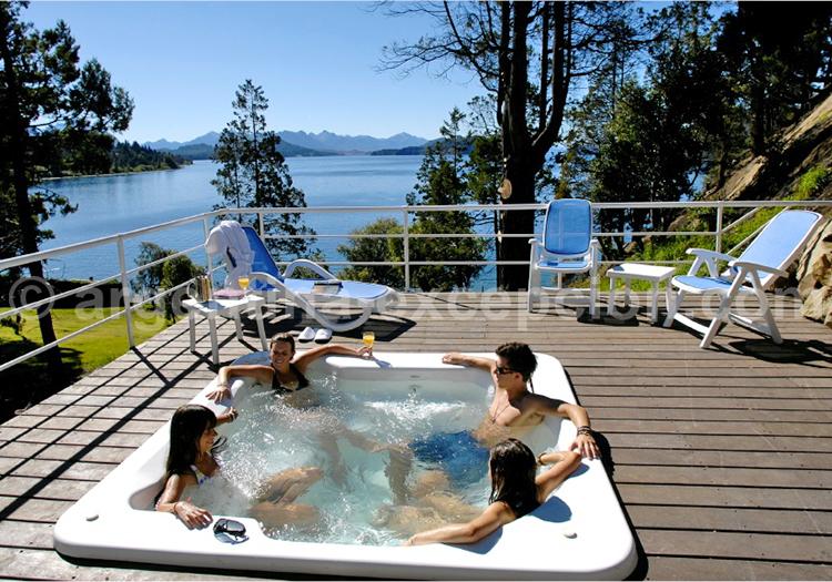 Charming Luxury Lodge, Jacuzzi