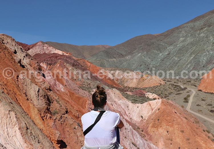 Trekking, Cerro Siete ColoresTrekking, Cerro Siete Colores