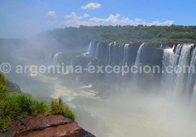 Chutes d'Iguazu, Misiones, Argentine avec Argentina Excepción