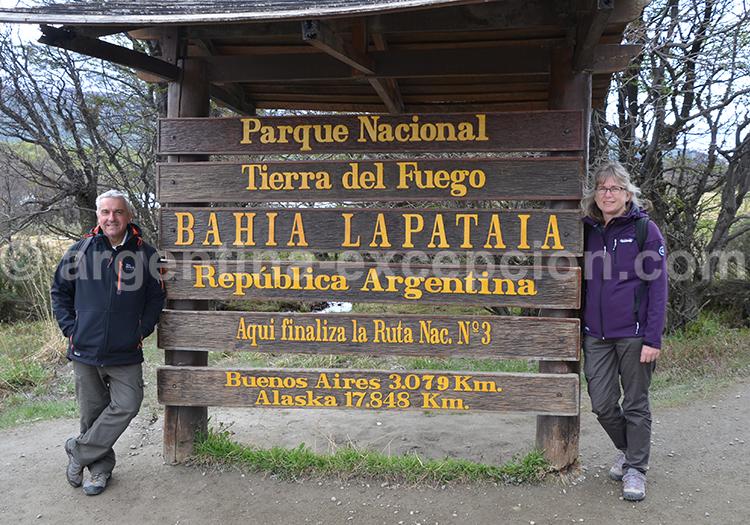 Ushuai, fin de la route 3 avec Argentina Excepción