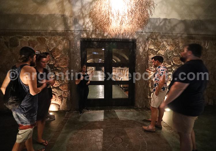 Oenotourisme en Argentine avec la bodega Vistalba avec l'agence de voyage Argentina Excepción