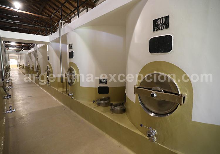 Dégustation des vins de la bodega Nieto Senetiner, Mendoza avec l'agence de voyage Argentina Excepción
