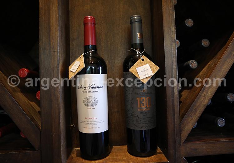 Mise en bouteille, Nieto Senetiner, vin de Mendoza avec l'agence de voyage Argentina Excepción