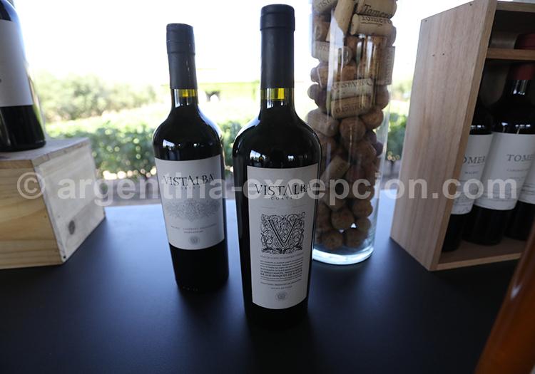 Gouter le vin de la bodega Vistalba , Luján de Cuyo avec l'agence de voyage Argentina Excepción