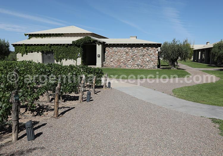 La bodega Vistalba, Mendoza, Argentine avec l'agence de voyage Argentina Excepción
