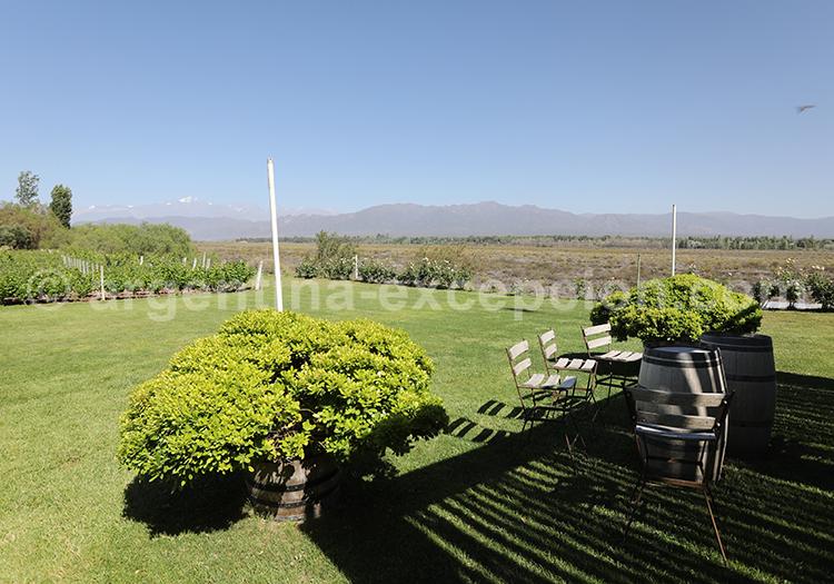 Dégustation de la cave de Achaval Ferrer, Luján de Cuyo avec l'agence de voyage Argentina Excepción