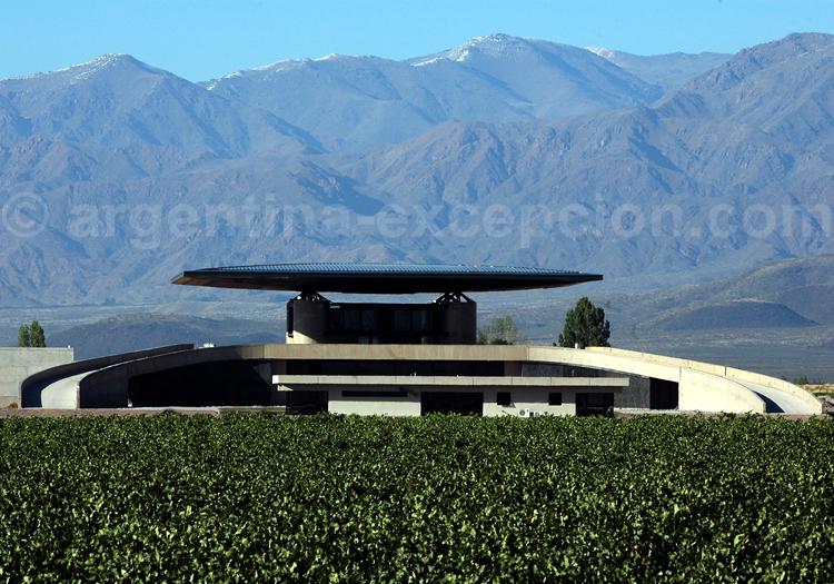 Visiter la bodega O. Fournier, vallée de Uco, Argentine avec l'agence de voyage Argentina Excepción