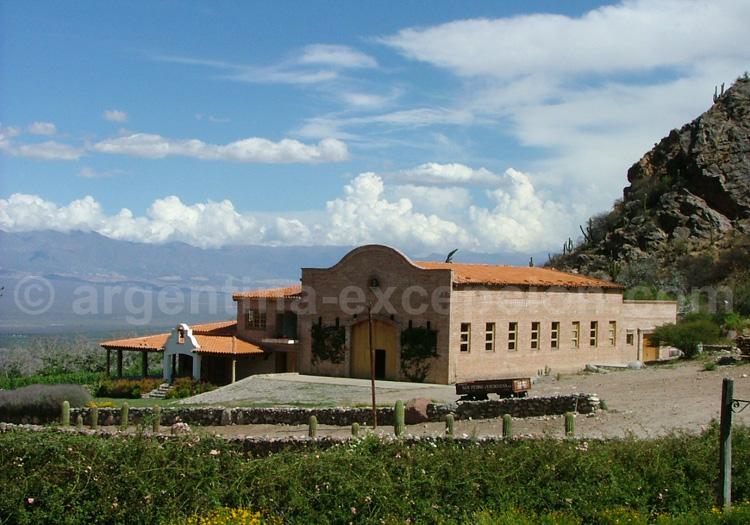 Visiter la bodega San Pedro Yacochuya, Cafayate, Argentine avec l'agence de voyage Argentina Excepción