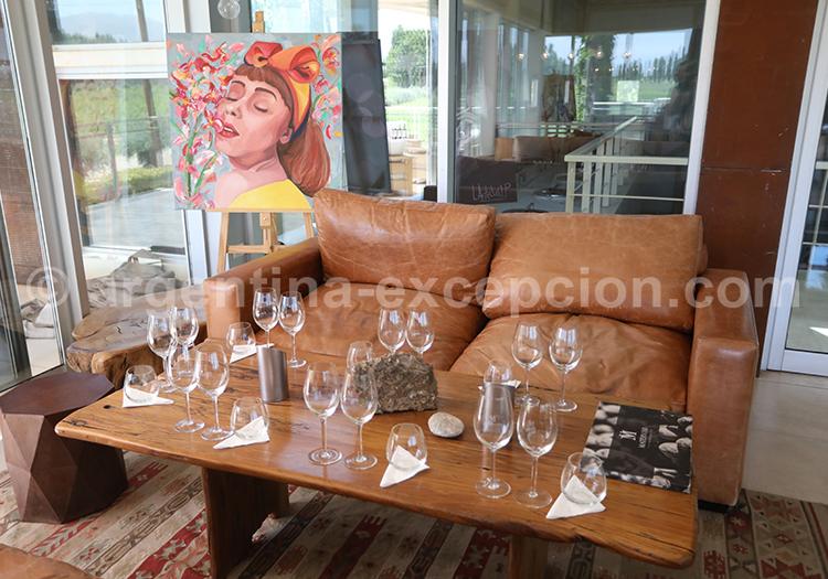 Caves et vins argentins, Lujan de Cuyo, bodega Matervini avec l'agence de voyage Argentina Excepción