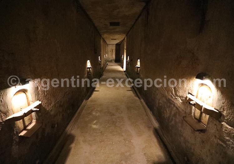 Caves de la région de Mendoza, bodega Clos de Chacras avec l'agence de voyage Argentina Excepción
